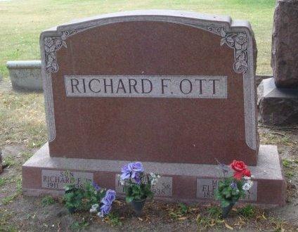 OTT, RICHARD F. JR. - Cook County, Illinois | RICHARD F. JR. OTT - Illinois Gravestone Photos