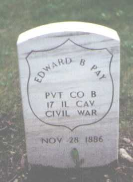 PAY, EDWARD B. - Cook County, Illinois | EDWARD B. PAY - Illinois Gravestone Photos