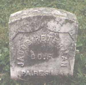 PETERMAN, JACOB - Cook County, Illinois   JACOB PETERMAN - Illinois Gravestone Photos