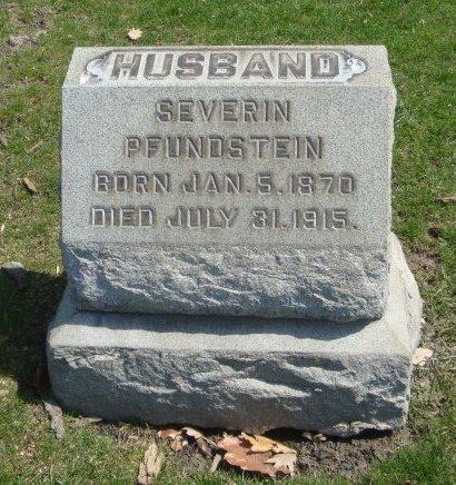 PFUNDSTEIN, SEVERIN - Cook County, Illinois | SEVERIN PFUNDSTEIN - Illinois Gravestone Photos