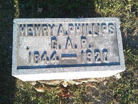 PHILLIPS (CW), HENRY A. - Cook County, Illinois | HENRY A. PHILLIPS (CW) - Illinois Gravestone Photos