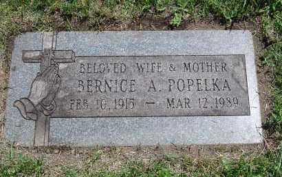 POPELKA, BERNICE - Cook County, Illinois   BERNICE POPELKA - Illinois Gravestone Photos