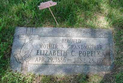 KOENIG/KING POPELKA, ELIZABETY - Cook County, Illinois | ELIZABETY KOENIG/KING POPELKA - Illinois Gravestone Photos
