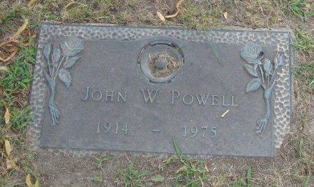 POWELL, JOHN W. - Cook County, Illinois   JOHN W. POWELL - Illinois Gravestone Photos