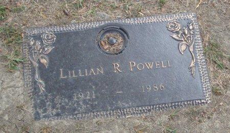 POWELL, LILLIAN R. - Cook County, Illinois   LILLIAN R. POWELL - Illinois Gravestone Photos