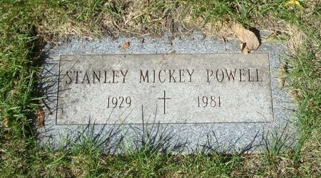 POWELL, STANLEY MICKEY - Cook County, Illinois   STANLEY MICKEY POWELL - Illinois Gravestone Photos
