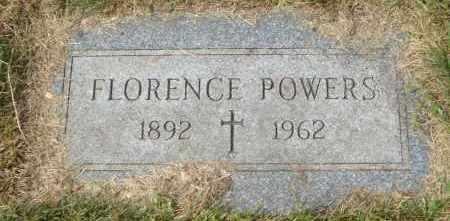 POWERS, FLORENCE - Cook County, Illinois | FLORENCE POWERS - Illinois Gravestone Photos