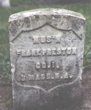 PRESTON, FRANK - Cook County, Illinois | FRANK PRESTON - Illinois Gravestone Photos