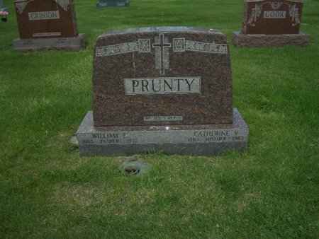 PRUNTY, WILLIAM - Cook County, Illinois | WILLIAM PRUNTY - Illinois Gravestone Photos