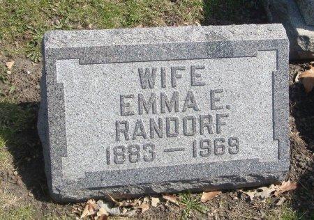 RANDORF, EMMA E. - Cook County, Illinois   EMMA E. RANDORF - Illinois Gravestone Photos