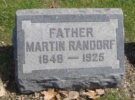 RANDORF, MARTIN - Cook County, Illinois | MARTIN RANDORF - Illinois Gravestone Photos