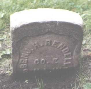 RENDELL, BENJAMIN H. - Cook County, Illinois | BENJAMIN H. RENDELL - Illinois Gravestone Photos