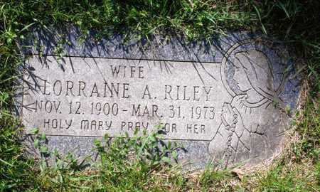 RILEY, LORRAINE - Cook County, Illinois | LORRAINE RILEY - Illinois Gravestone Photos