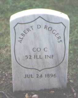 ROGERS, ALBERT D. - Cook County, Illinois | ALBERT D. ROGERS - Illinois Gravestone Photos