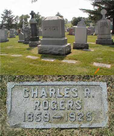 ROGERS, CHARLES R. - Cook County, Illinois | CHARLES R. ROGERS - Illinois Gravestone Photos