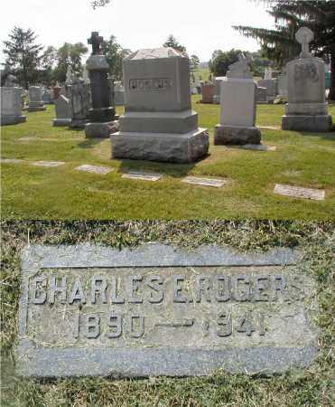 ROGERS, CHARLES E. - Cook County, Illinois | CHARLES E. ROGERS - Illinois Gravestone Photos