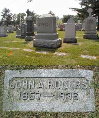 ROGERS, JOHN A. - Cook County, Illinois   JOHN A. ROGERS - Illinois Gravestone Photos