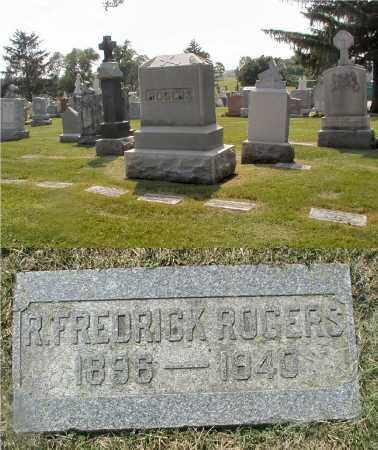 ROGERS, R. FREDERICK - Cook County, Illinois | R. FREDERICK ROGERS - Illinois Gravestone Photos