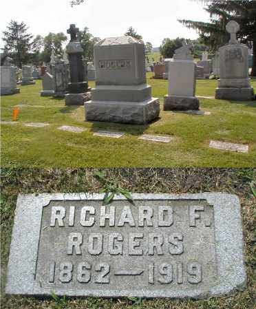 ROGERS, RICHARD F. - Cook County, Illinois   RICHARD F. ROGERS - Illinois Gravestone Photos