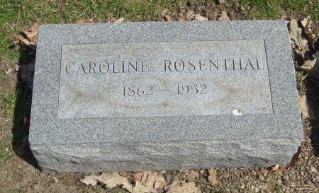 ROSENTHAL, CAROLINE - Cook County, Illinois   CAROLINE ROSENTHAL - Illinois Gravestone Photos