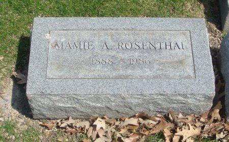 ROSENTHAL, MAMIE A. - Cook County, Illinois | MAMIE A. ROSENTHAL - Illinois Gravestone Photos