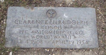 RUDOLPH, CLARENCE J. - Cook County, Illinois   CLARENCE J. RUDOLPH - Illinois Gravestone Photos