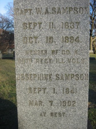 SAMPSON (CW), WILLIAM A. - Cook County, Illinois | WILLIAM A. SAMPSON (CW) - Illinois Gravestone Photos