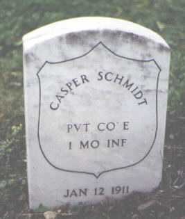 SCHMIDT, CASPER - Cook County, Illinois | CASPER SCHMIDT - Illinois Gravestone Photos
