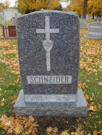 SCHNEIDER, JOSEPH - Cook County, Illinois | JOSEPH SCHNEIDER - Illinois Gravestone Photos