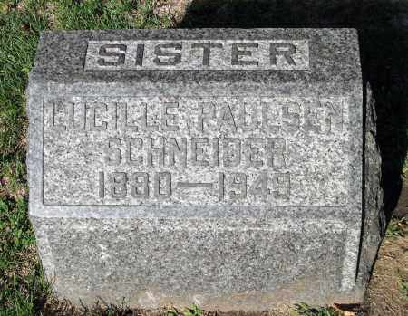SCHNEIDER, LUCILLE - Cook County, Illinois   LUCILLE SCHNEIDER - Illinois Gravestone Photos
