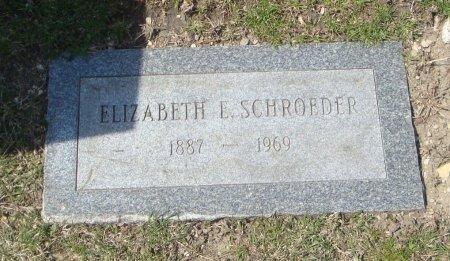 SCHROEDER, ELIZABETH E. - Cook County, Illinois | ELIZABETH E. SCHROEDER - Illinois Gravestone Photos