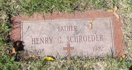 SCHROEDER, HENRY C. - Cook County, Illinois | HENRY C. SCHROEDER - Illinois Gravestone Photos