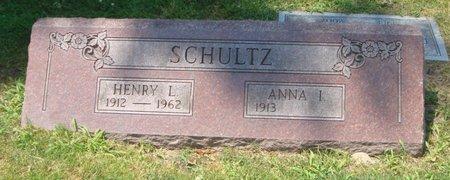 SCHULTZ, ANNA I. - Cook County, Illinois | ANNA I. SCHULTZ - Illinois Gravestone Photos