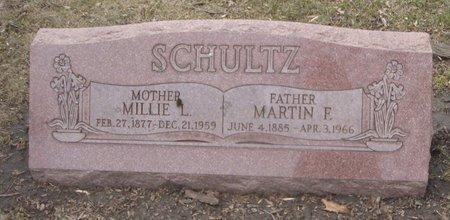 SCHULTZ, MILLIE L. - Cook County, Illinois | MILLIE L. SCHULTZ - Illinois Gravestone Photos