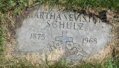 SCHULZ, MARTHA EVISTON - Cook County, Illinois | MARTHA EVISTON SCHULZ - Illinois Gravestone Photos