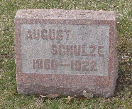 SCHULZE, AUGUST - Cook County, Illinois | AUGUST SCHULZE - Illinois Gravestone Photos