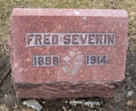 SEVERIN, FRED - Cook County, Illinois | FRED SEVERIN - Illinois Gravestone Photos