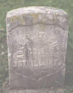SHAW, ADELBERT - Cook County, Illinois   ADELBERT SHAW - Illinois Gravestone Photos