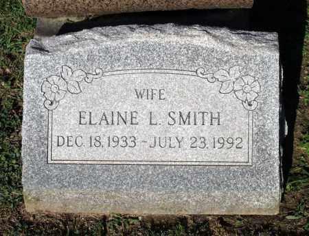 SMITH, ELAINE L. - Cook County, Illinois | ELAINE L. SMITH - Illinois Gravestone Photos