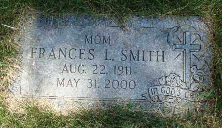 SMITH, FRANCES L. - Cook County, Illinois   FRANCES L. SMITH - Illinois Gravestone Photos