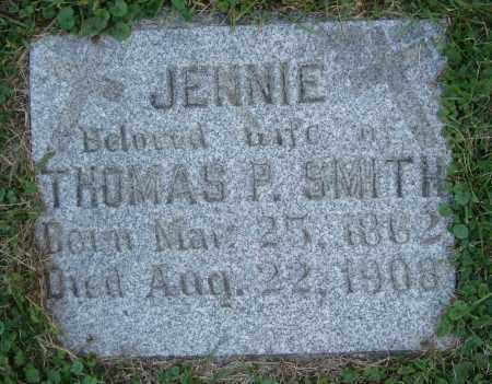 SMITH, JENNIE - Cook County, Illinois | JENNIE SMITH - Illinois Gravestone Photos