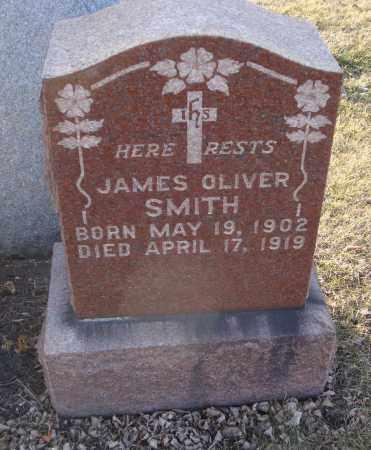 SMITH, JAMES OLIVER - Cook County, Illinois | JAMES OLIVER SMITH - Illinois Gravestone Photos