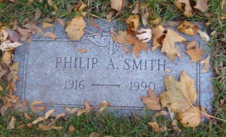 SMITH, PHILIP A. - Cook County, Illinois | PHILIP A. SMITH - Illinois Gravestone Photos
