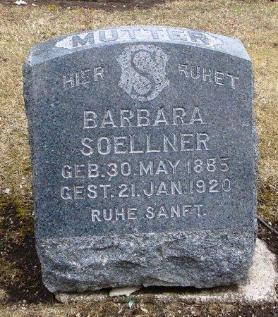SOELLNER, BARBARA - Cook County, Illinois   BARBARA SOELLNER - Illinois Gravestone Photos