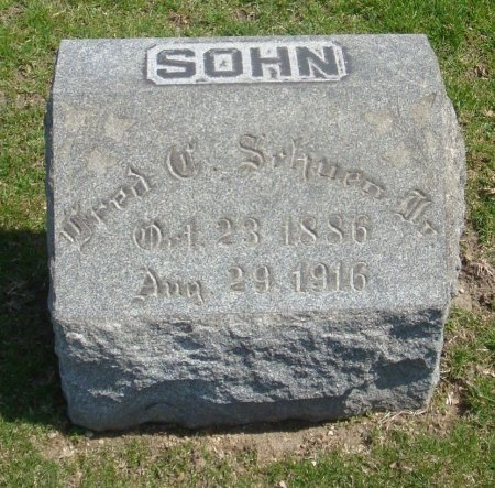 SCHUEN, FRED C. JR. - Cook County, Illinois   FRED C. JR. SCHUEN - Illinois Gravestone Photos
