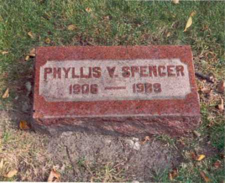 VAVRINEK SPENCER, PHYLLIS - Cook County, Illinois | PHYLLIS VAVRINEK SPENCER - Illinois Gravestone Photos