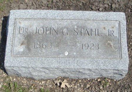 STAHL, DR. JOHN G. JR. - Cook County, Illinois   DR. JOHN G. JR. STAHL - Illinois Gravestone Photos
