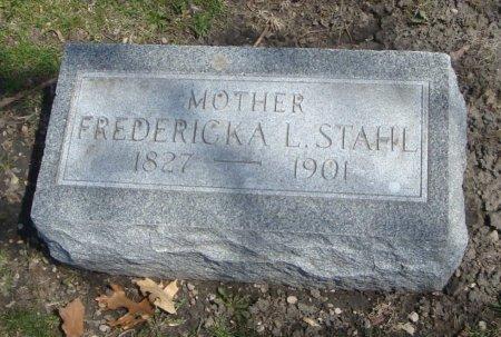 STAHL, FREDERICKA L. - Cook County, Illinois   FREDERICKA L. STAHL - Illinois Gravestone Photos