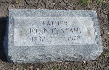 STAHL, JOHN G. - Cook County, Illinois | JOHN G. STAHL - Illinois Gravestone Photos