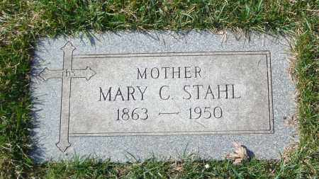 STAHL, MARY C. - Cook County, Illinois | MARY C. STAHL - Illinois Gravestone Photos